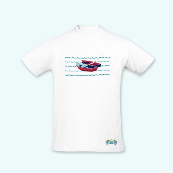 Camiseta chico barcas