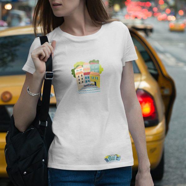 Vive Cudillero tienda - Camiseta chica