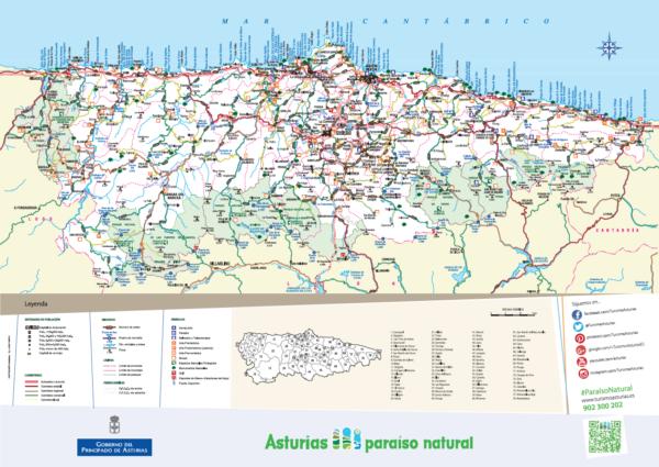 Callejero Asturias