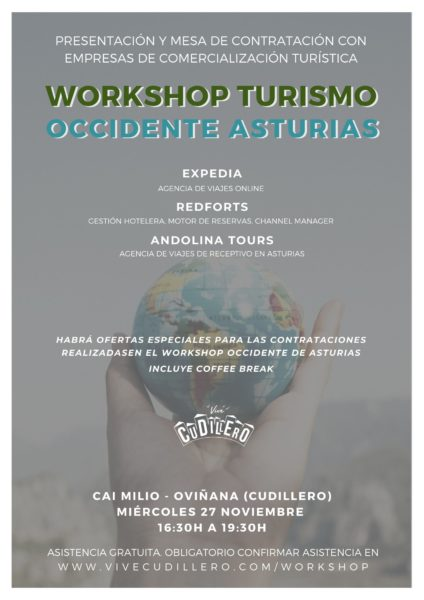 Cartel del Workshop Occidente Asturias