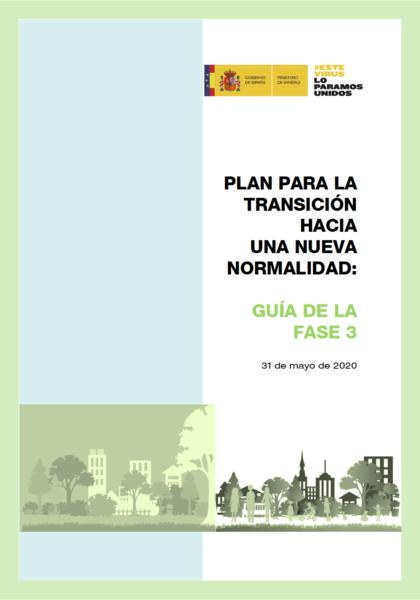 Guía de la Fase 3 - Ministerio de Sanidad