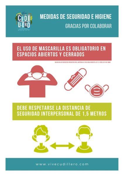 Medidas de seguridad e higiene en la Nueva Normalidad (uso de mascarilla y distancia de seguridad)