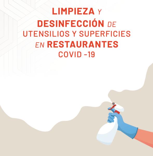 Limpieza y desinfección de utiles y superficies en Hosteleria