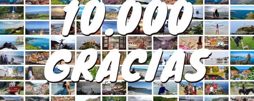 Celebramos 10.000 seguidores en Facebook con un sorteo