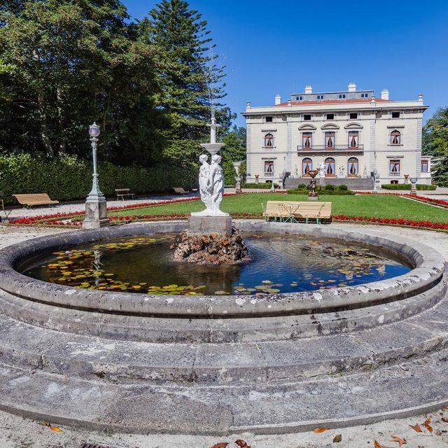 Palacio y jardines de la Quinta de Selgas