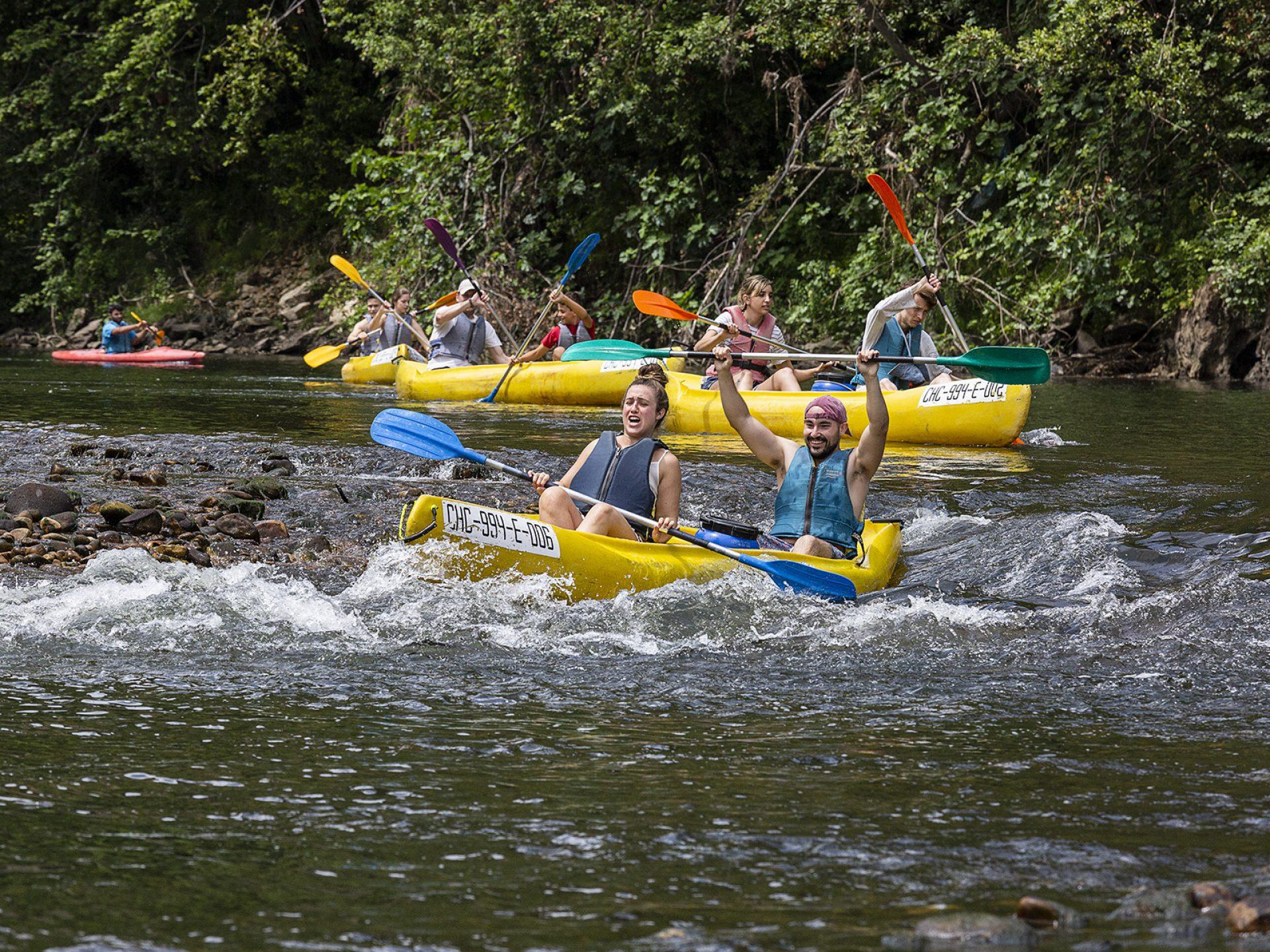 Descensos en canoa